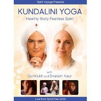 Kundalini Yoga Healthy Body Fearless Spirit DVD by Gurmukh and Snatam Kaur